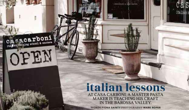 Casa Carboni in Country Style Magazine